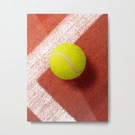 BALLS / Tennis (Clay Court) Metal Print