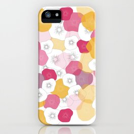Coral Flowers iPhone Case