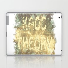 Kaos theory on sandy fractal Laptop & iPad Skin