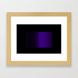 Midnight Purple Framed Art Print