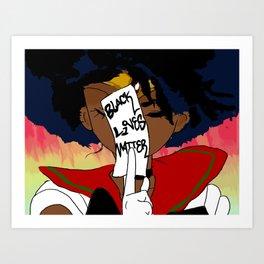 Sailor Afrolicious Art Print