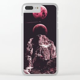 Space Ship Clear iPhone Case