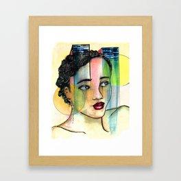 Light Music Framed Art Print