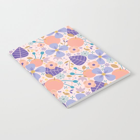 Just Peachy Notebook