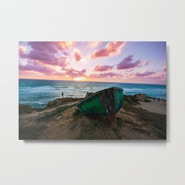Sunset Over TLV Metal Print