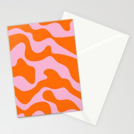 squiggle wiggle Stationery Cards