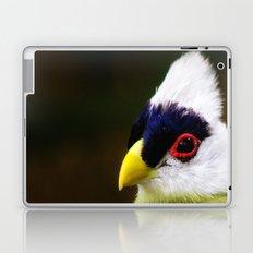 White Crested Turaco Laptop & iPad Skin