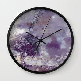 Float On Wall Clock