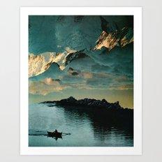 A Meditation Art Print
