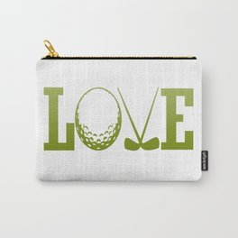 LOVE GOLF Carry-All Pouch