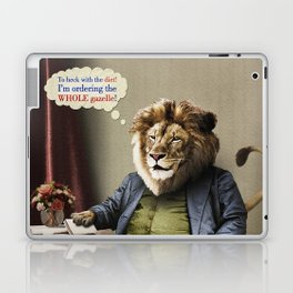 Hungry Lion Laptop & iPad Skin