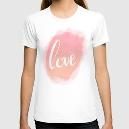 Pretty Love Print With Arrows T-shirt