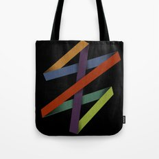 Folded Abstraction Tote Bag