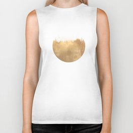 Brushed Gold Biker Tank