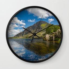 Tryfan Mountain Snowdonia Wales Wall Clock