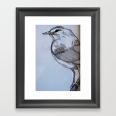 Looking West Framed Art Print