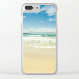 Kapalua Beach Honokahua Maui Hawaii Clear iPhone Case