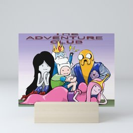 The Adventure Club Mini Art Print