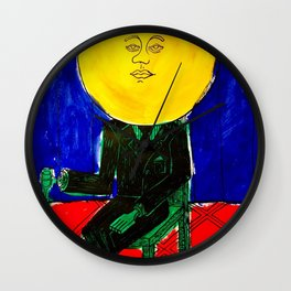 Sir/Madam Pompadour - Pop Art Surrealism Wall Clock
