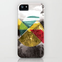 Sojourn series - Lake Mathieson iPhone Case
