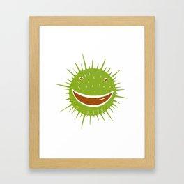 Conker Framed Art Print