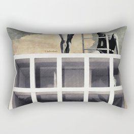 Just dive in! Rectangular Pillow