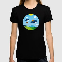 Swallows go to Africa T-shirt
