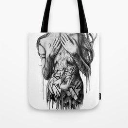GIRL-GRAFF-ART Tote Bag