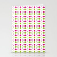 polka dot Stationery Cards featuring Polka Dot by Ryan Grice