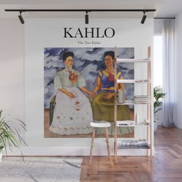 Kahlo - The Two Fridas Wall Mural
