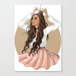 Slay Queen! Canvas Print