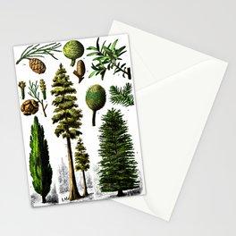 Various gymnosperms Stationery Cards