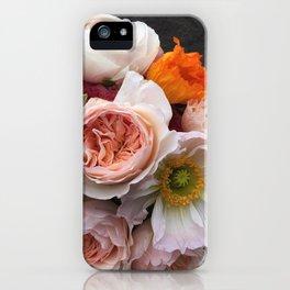 Rosey ruffles iPhone Case