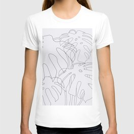 Monstera Illustration 02 T-shirt
