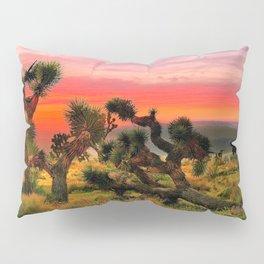 Sunset at Joshua Tree National Park, California, USA Pillow Sham