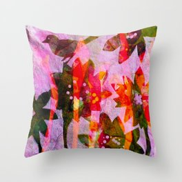 Candy Crush  Throw Pillow