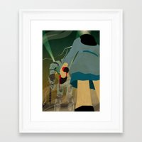 destiny Framed Art Prints featuring Destiny by Arian Noveir