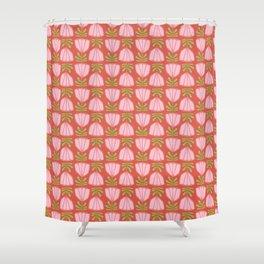 Flip Flop Pink Large Shower Curtain