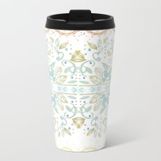 Boho floral Metal Travel Mug