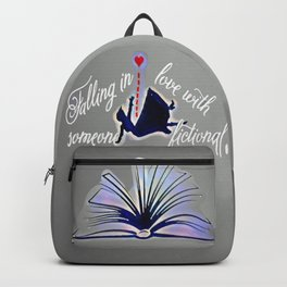 Falling Fiction (fem) - Blue Backpack