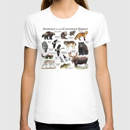 Animals of the Canadian Shield T-shirt