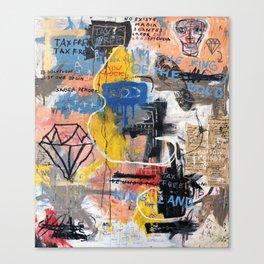 Tax Free Canvas Print