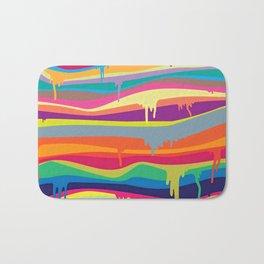 DRIPPING--COLOR Bath Mat