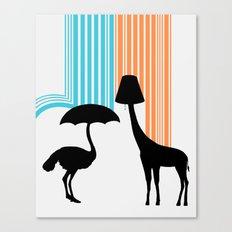Animal Appliances Canvas Print