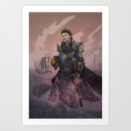 Lord Quill Art Print