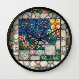 "Oh My Stars Follow Lepus ""The Hare"" Wall Clock"