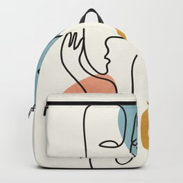 Abstract Faces 32 Backpack