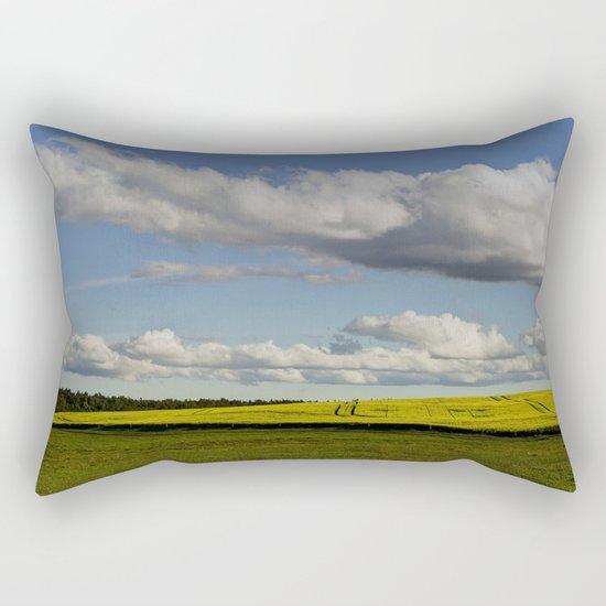 Spring-Landscape Rectangular Pillow
