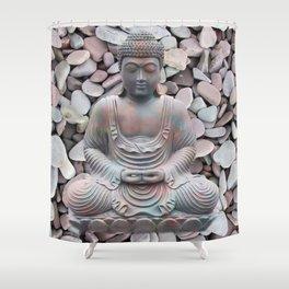 Buddha - Inner Peace Shower Curtain
