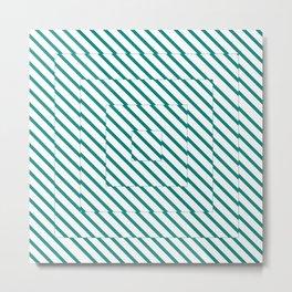 Square Illusion Metal Print